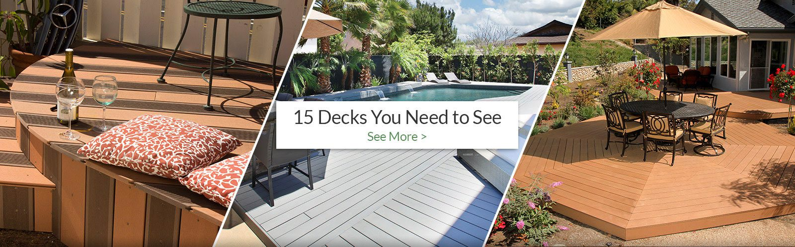 15 Decks you need to see